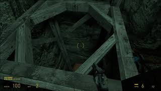 Let's Play Half Life 2 Update On Hard (Ch 6) Part 11 Light At The End Of The Tunnel