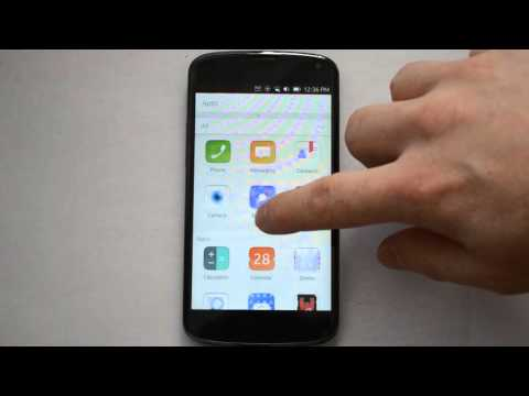 Ubuntu Touch - LG Nexus 4 - Overview