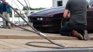 BMW 8er/Alpina on Tour and Ferry in Hungary
