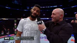 UFC 231: Dhiego Lima Octagon Interview