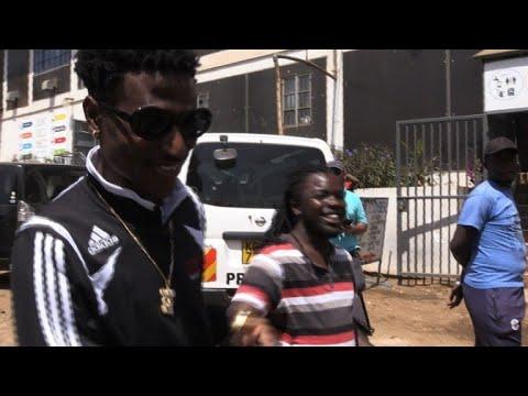 Rap king of Kibera slum inspires Kenyan kids