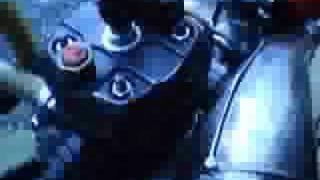 moteur derbi sur banc olivier