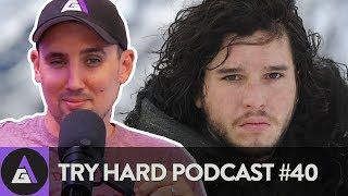 CRAIG'S FIRST TIME WATCHING GAME OF THRONES - Try Hard Podcast #40