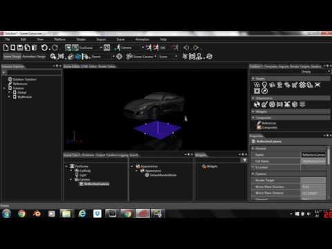 CGI Studio Tutorial: Add a Reflection Camera
