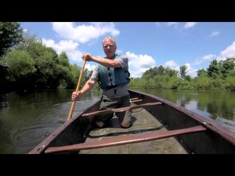 Total Outdoorsman: How to Paddle a Canoe Solo - YouTube
