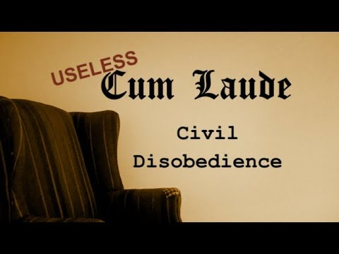 The Basics: (On the Duty of) Civil Disobedience