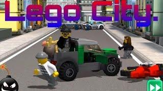 Игра Лего Сити Налёт Преступников прохождение и обзор игры на русском языке смотреть мультик онлайн.
