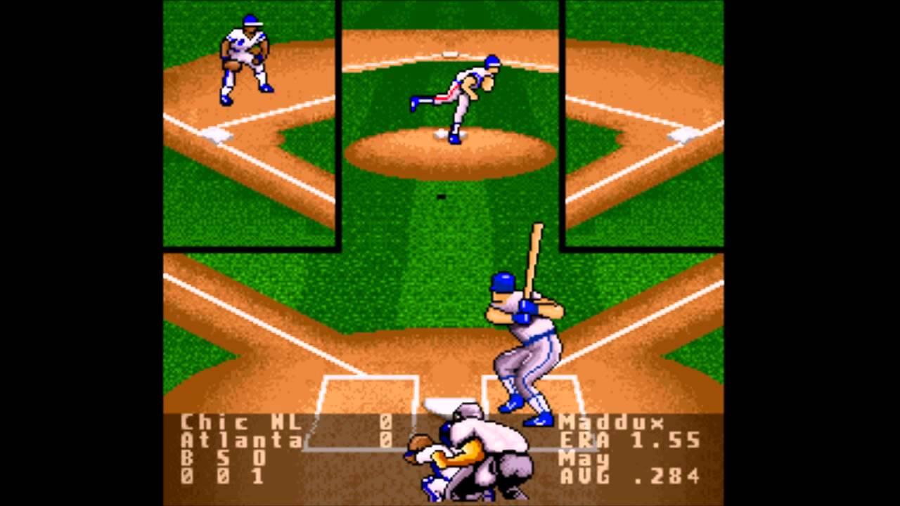 super r b i baseball intro snes introduction youtube