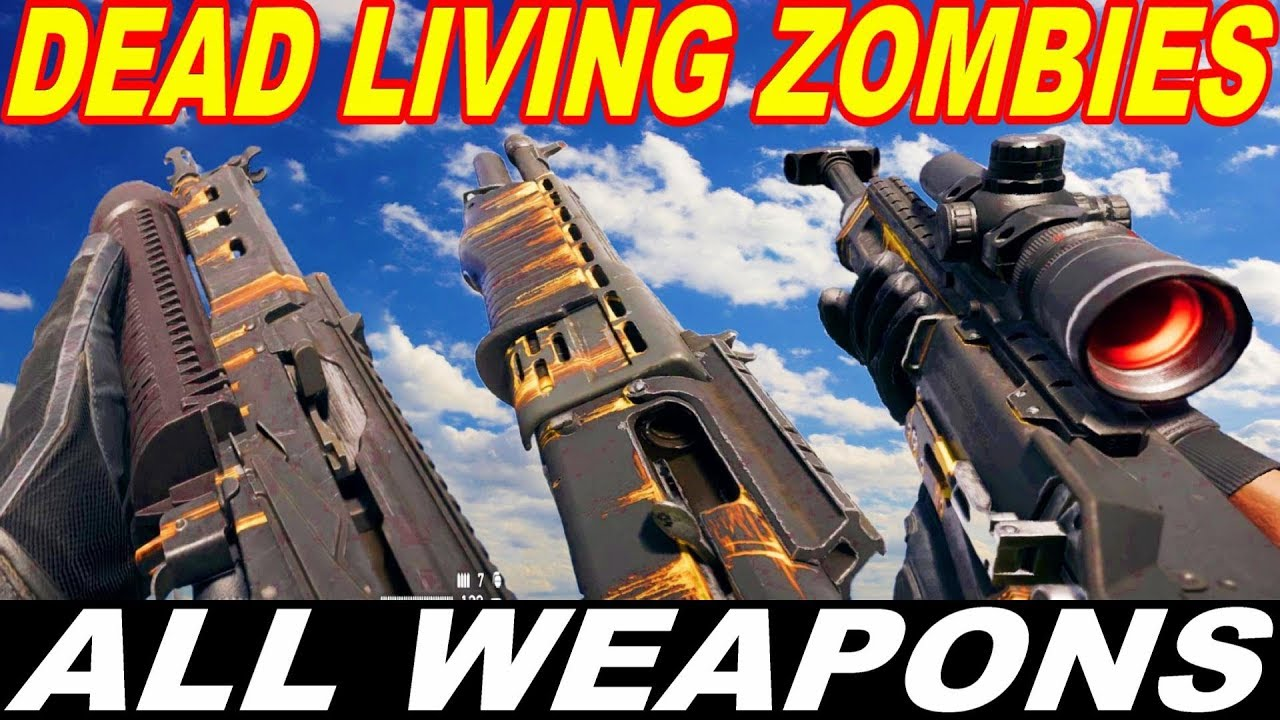 Dead Living Zombies All Weapons Far Cry 5 Third Dlc Youtube