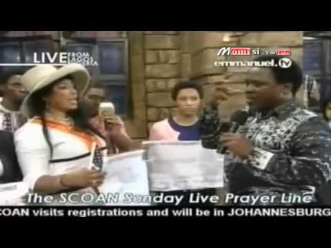 SCOAN 14/06/14: Deliverance Time Through The `NEW Anointing Water