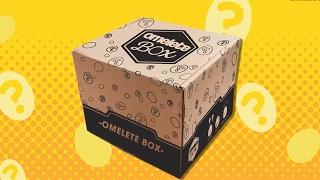 OMELETE BOX DE FEVEREIRO Umboxing