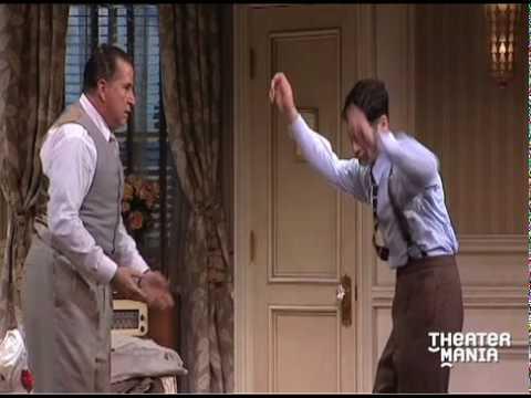 Stanley Tucci, Anthony LaPaglia, Tony Shalhoub, Justin Bartha and the cast of Lend Me a Tenor