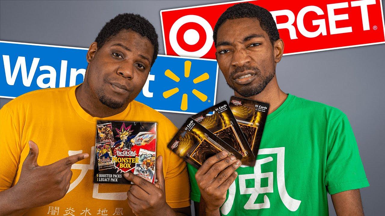 WALMART vs TARGET! The LAST Yu-Gi-Oh Cards in Stock!