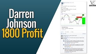 Easiest Forex Profit Ever - Darren Johnson's $1800 Forex Profit in One Day