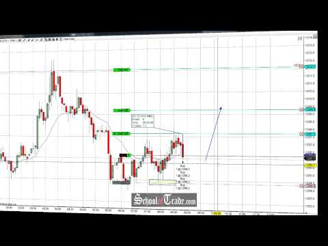 Price Action Trading The Gold Futures; SchoolOfTrade.com