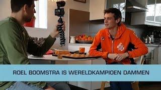 """Wereldkampioen dammen: """"Nu eerst studie afmaken"""""""
