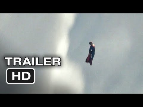 Man of Steel Official Teaser Trailer #1 - Superman Movie - R