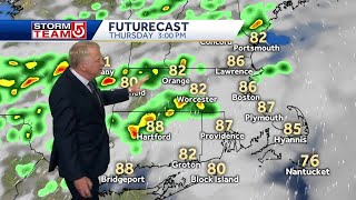 Video: Another round of thunderstorms to move through region on Thursday
