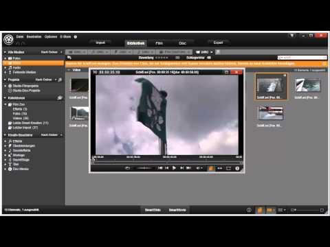 Szenenerkennung anpassen in Pinnacle Studio 16 und 17 Video 25 von 114