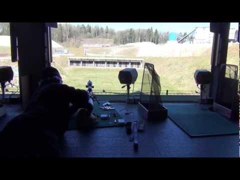 300m range with custom Swiss Schmidt-Rubin K-31, 40 rounds
