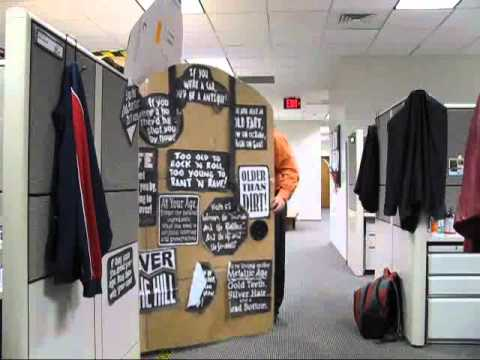 Co workers 50th birthday youtube for 50th birthday decoration ideas for office