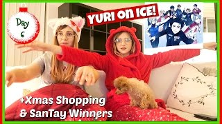 Reacting to Yuri On Ice Anime | Vlogmas 6