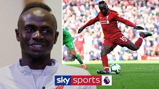 """9 goals in 9 games? Not bad!"" | Sadio Mané on scoring, Liverpool's title race & Mo Salah!"