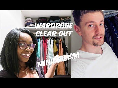 Dramatic Wifey's Wardrobe Clear out | Embracing Minimalism |** CherAndMarkie **