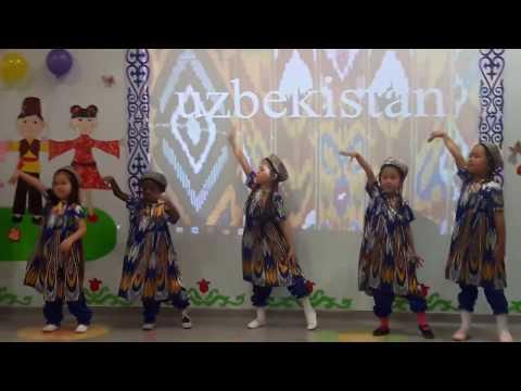 Uzbek Dance Precious Kids @KZ