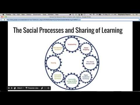 Mutual Aid Networks web learning series 2016 #3 - Vision to Action