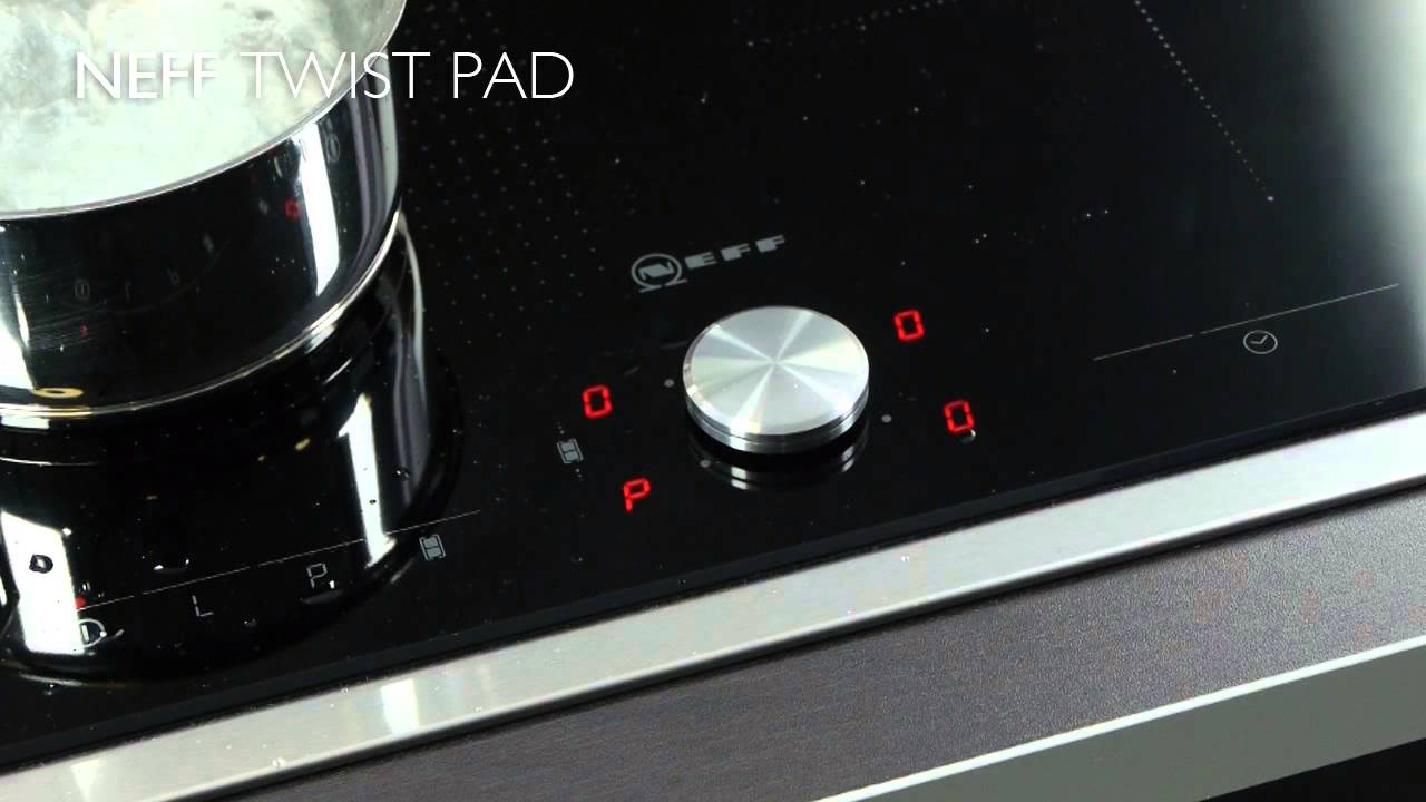 neff cooktops twistpad wipe protection youtube. Black Bedroom Furniture Sets. Home Design Ideas