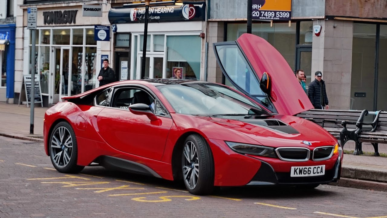 2017 BMW I8 Protonic Red Edition. All Cars