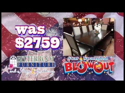Bitterroot Furniture July 4th Blowout 2013