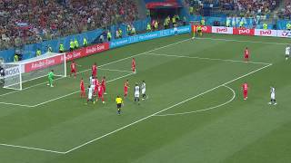 Set Play Analysis - Corner Goals Clip 1 - FIFA World Cup™ Russia 2018