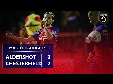 Aldershot Chesterfield Goals And Highlights
