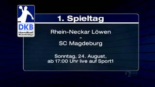 TV-Trailer: Rhein-Neckar Löwen gegen SC Magdeburg live auf Sport1