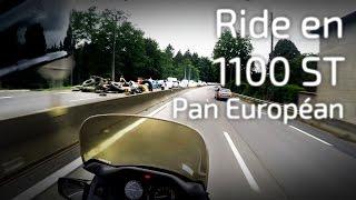 [RAW] Ride en 1100ST Pan Européan ! Je chevauche une grand mère ! + Manifestation Paysans