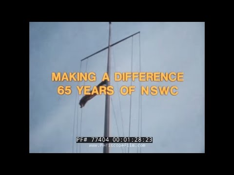 NAVAL SURFACE WEAPONS CENTER 1983 ANNIVERSARY U.S. NAVY FILM  77404