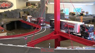 RCTKA Ettlingen - RC trucks and construction machines - opening of the new bridge