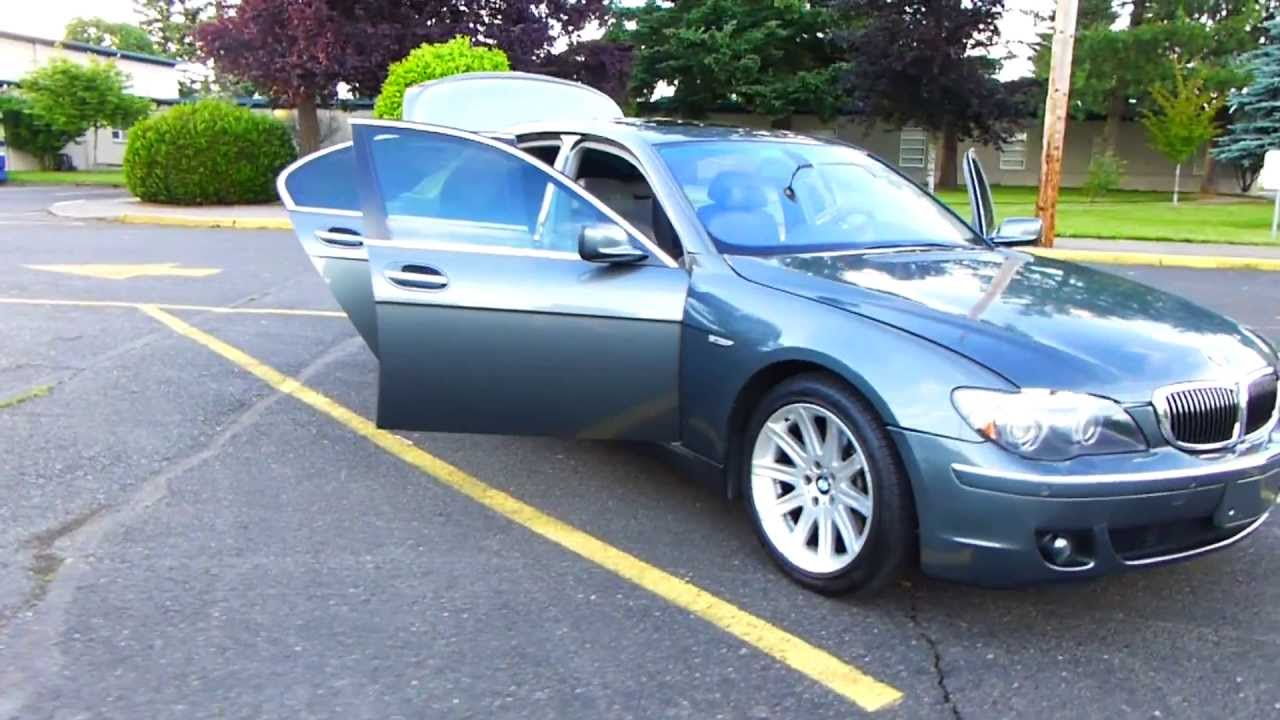 For Sale BMW I YouTube - 2006 bmw 745 for sale