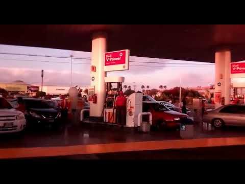 Inauguración Gasolinera