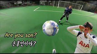 GoPro Footballer: Son's moves challeange I tried playing like Son-Heung Min