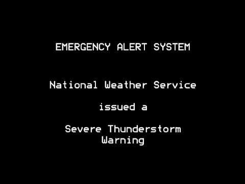 Severe Thunderstorm Warning - EAS #588 - 3/28/14 7:49 PM