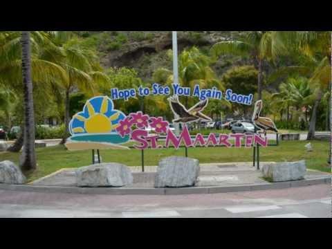 Disney Fantasy St. Maarten Harbour
