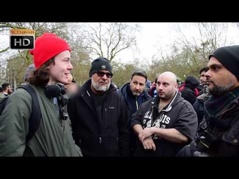 P2 - Nothing or God!? Hashim Vs Atheist   Speakers Corner   Hyde Park