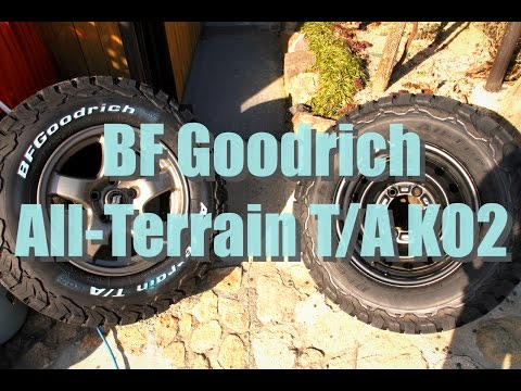 Bf Goodrich Ta Ko2 >> 【BF Goodrich All-Terrain T/A KO2】 【245/70R16】& 【215/75R15】 - YouTube
