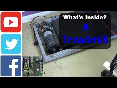 Whats Inside A treadmill? Wind Turbine motor? Much More...