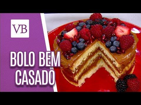 Bolo de Bem Casado: Naked Cake - Você Bonita (13/06/18)