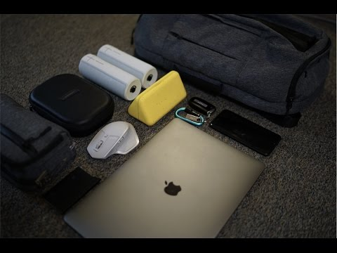 What's in my Tech Bag - 2017 EDC