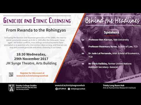Behind the Headlines : Genocide and Ethnic Cleansing in our Times: From Rwanda to the Rohingyas